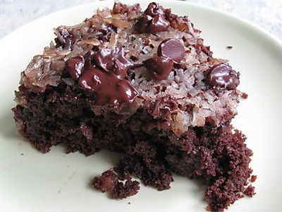 Upside-down chocolate chip cake | cake & desserts | Pinterest
