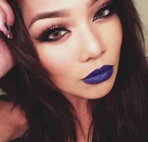 Fall 2014 Beauty Trend - 5 Ways To Rock Purple Lipstick