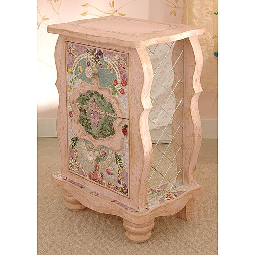 Bohemian Mosaic Night Stand