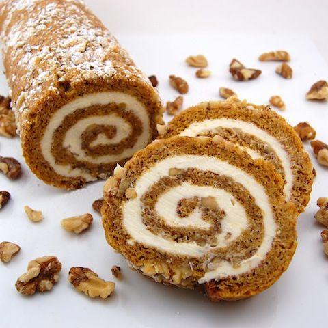 Cream Cheese Pumpkin Roll | Recipes | Pinterest