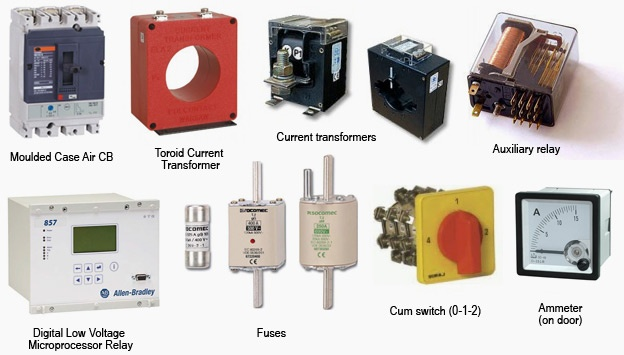 Electrical panel parts
