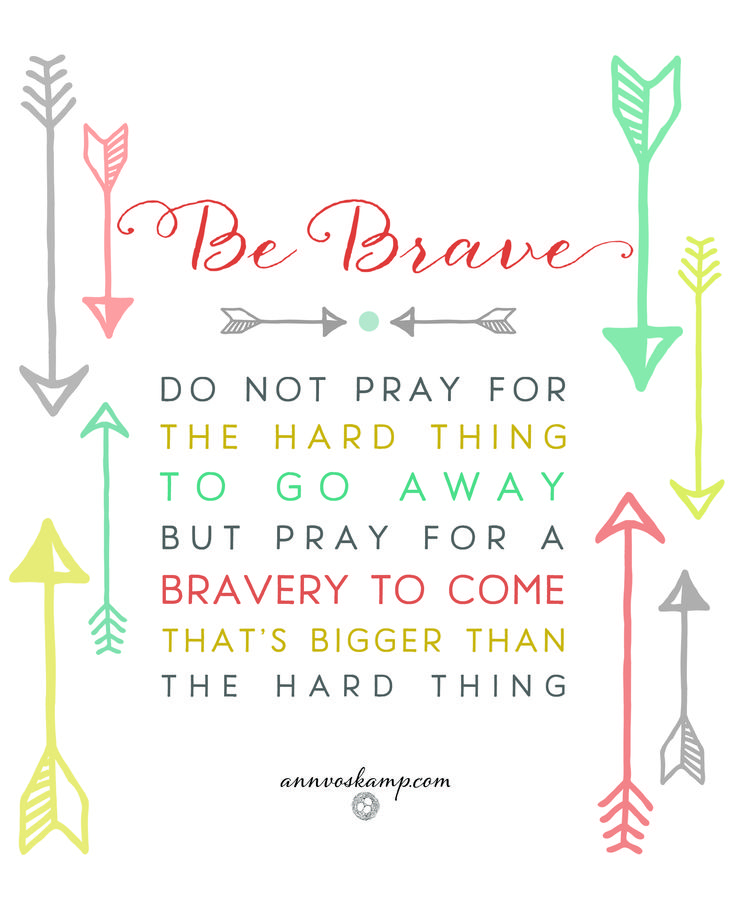 """Hey Soul? You've got Big, Hard Things coming at you from every side. You may not even be saying it out loud -- but really? It's hard to keep showing up when it'd be easier to give up. But can you hear Him? """"Just Call to Me. I guarantee I will answer you. *I will make you strong & brave.*"""" (Ps.138:3MSG)"""