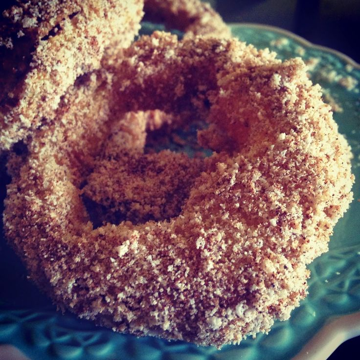 Healthier version of crispy Apple Rings. So good!