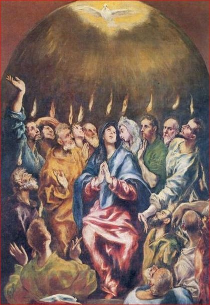 pentecost tongues of fire bible story