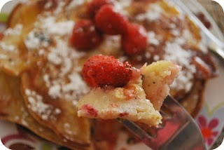 Strawberry Protein Pancake Roll-Ups With Yogurt Filling Recipes ...