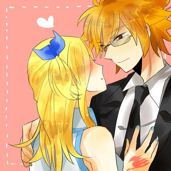 Loki and Lucy -Fairy Tail | Fairytail | Pinterest