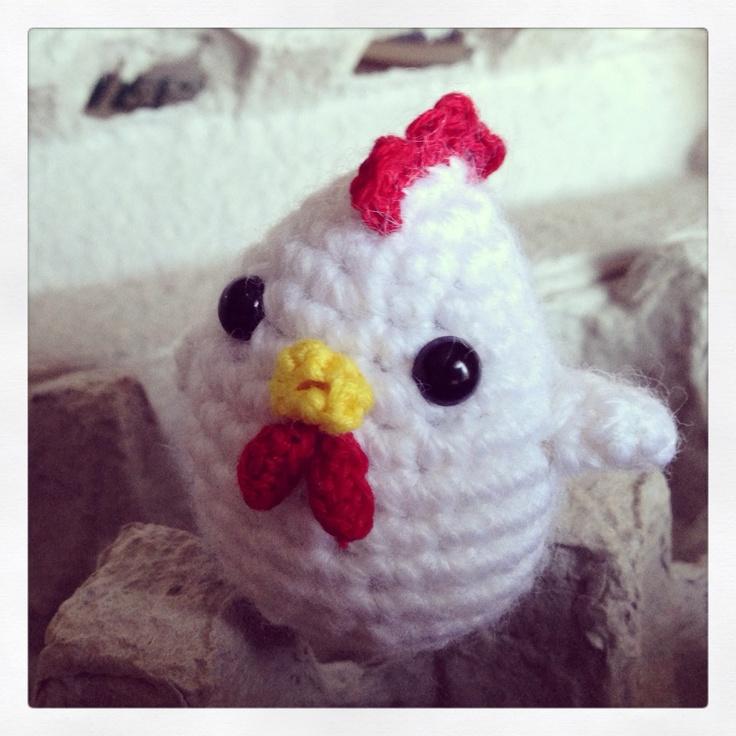 Amigurumi Chicken Crocheted Accessoirs Pinterest