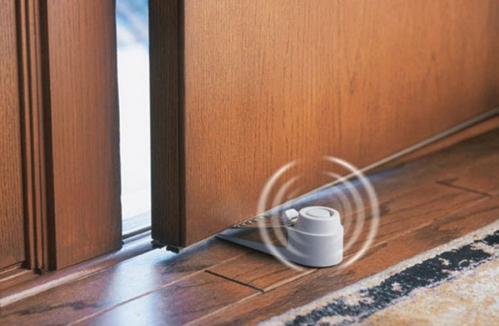 Every Traveler Needs One: Travel Door Stop Alarm