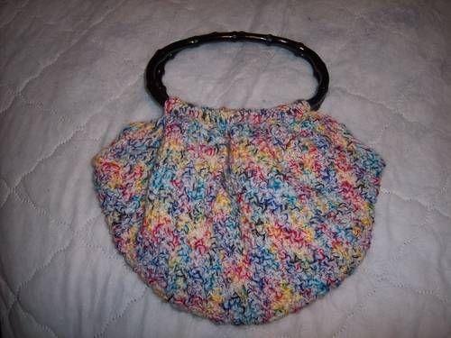 Fat Bottom Fun Bag - CROCHET Crochet Pinterest