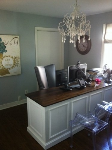 shabby chic home office office pinterest. Black Bedroom Furniture Sets. Home Design Ideas