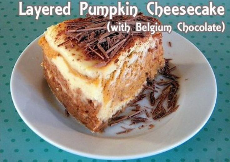 pumpkin cheesecake recipe