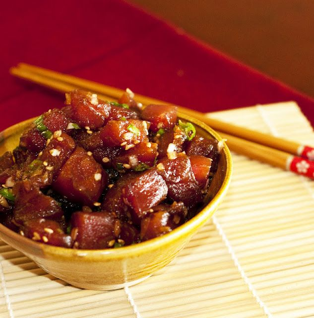 Ahi poke | recipes | Pinterest