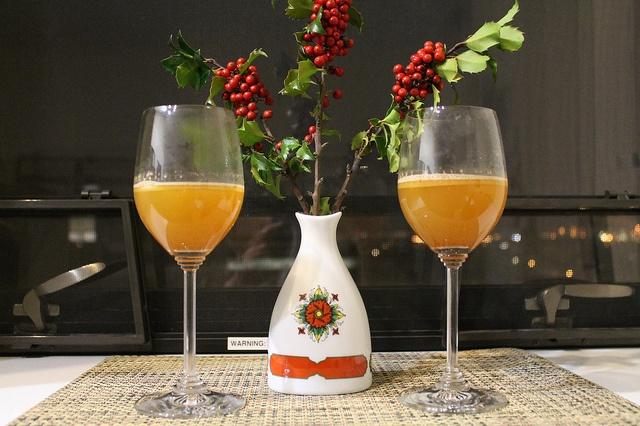 Hot Buttered Bourbon and Cider | Cocktails and Mocktails | Pinterest