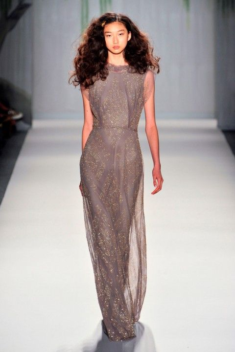 Jenny Packham SS14 at New York Fashion Week 2013