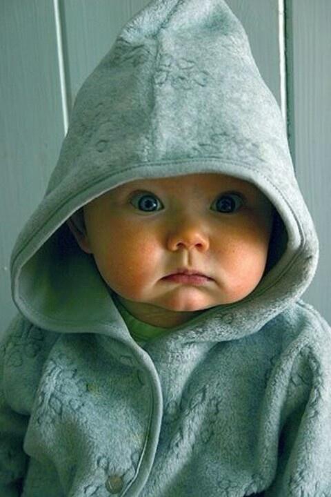 Chubby cheek baby
