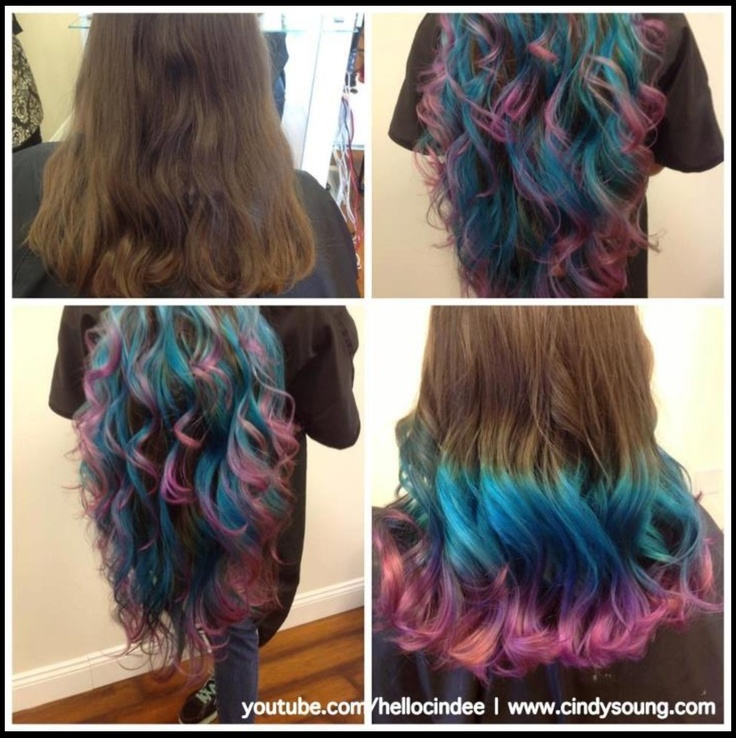Cotton candy ombre | H...