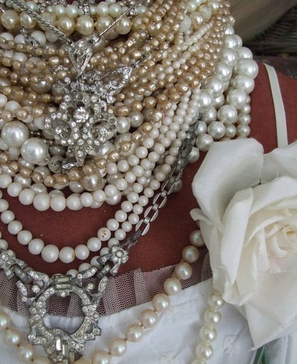 Crazy about pearls