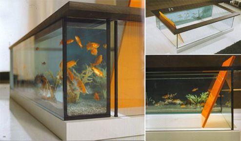 Fish Tank Friday: Bathroom Aquaria | OhGizmo!