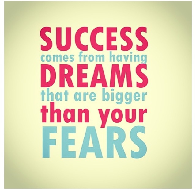 success quote fear pinterest inspirational words