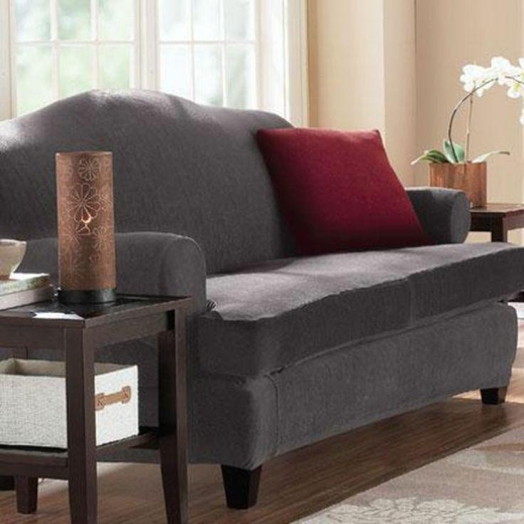 sofa covers sears ~ surefit(tm) eastwood 2piece stretch sofa slipcover