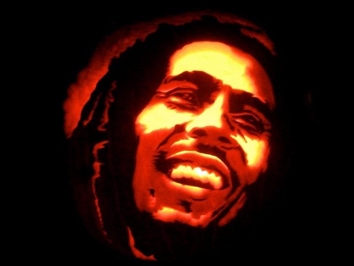 Bob Marley Pumpkin   H...