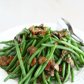 green beans with bacon barely cooked green beans with tahini lemon ...