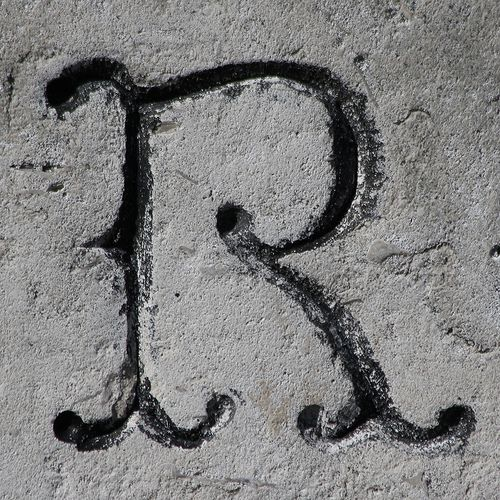 Letter R Letter R Pinterest