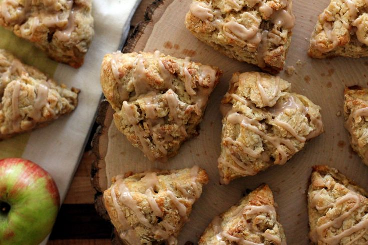 the PSL – A Recipe for Spiced Apple Scones with Apple Cider Glaze ...