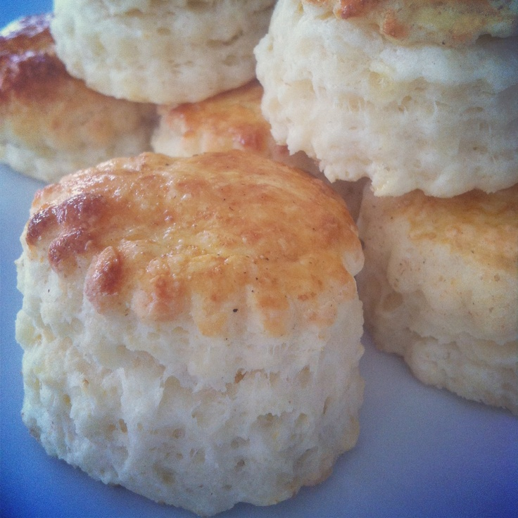 Flaky, tender, buttery buttermilk biscuits straight from the oven
