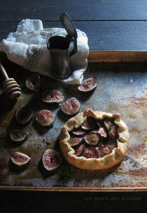 Fig Galette | Dessert Bites: Pastries, Pies and Tarts | Pinterest
