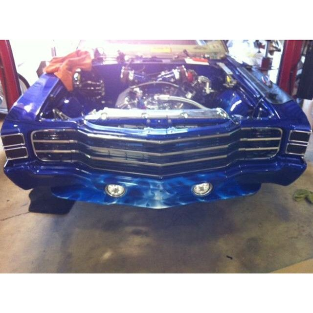 Chevelle Ss >> 71 chevelle RS SS custom grill hideaway headlights Street ...