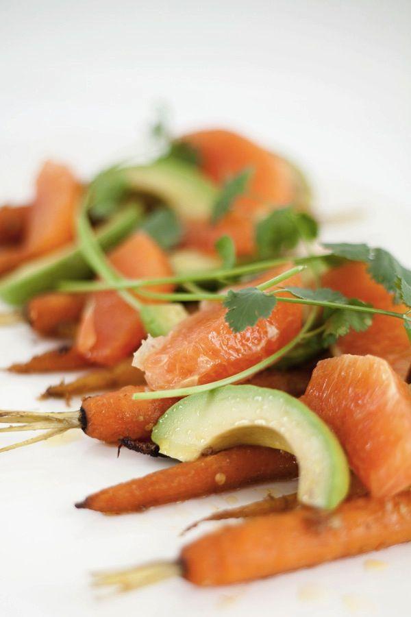 Carrot Avocado Orange Salad http://veganrecipepins.com/carrot-avocado ...