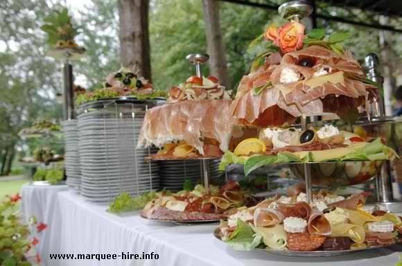Wedding Menu Buffet Ideas