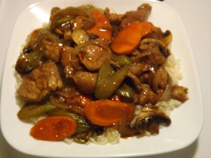 Ginger Pork Stir-Fry | Tried Them and Liked Them | Pinterest
