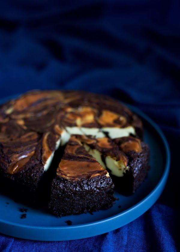 Decadent Cheesecake Brownies | The Gluten Free Scallywag