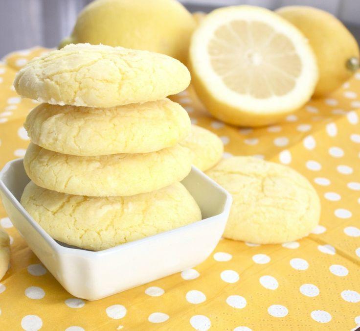 lemon sunshine cookies