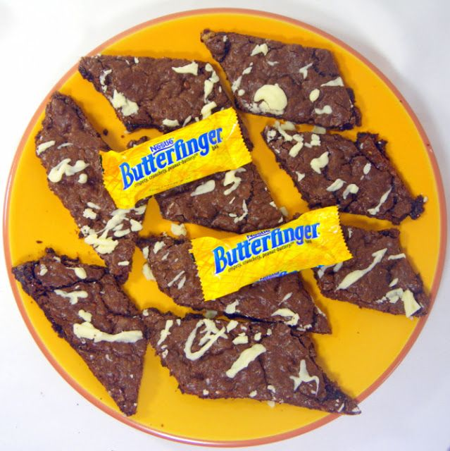 ... : Butterfinger Brownie Bars (Chocolate Peanut Butter Cookie Bar