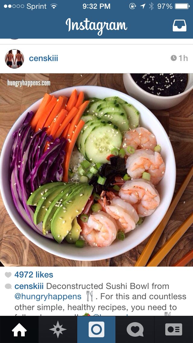 Deconstructed sushi bowl | My Recipe Pictures | Pinterest