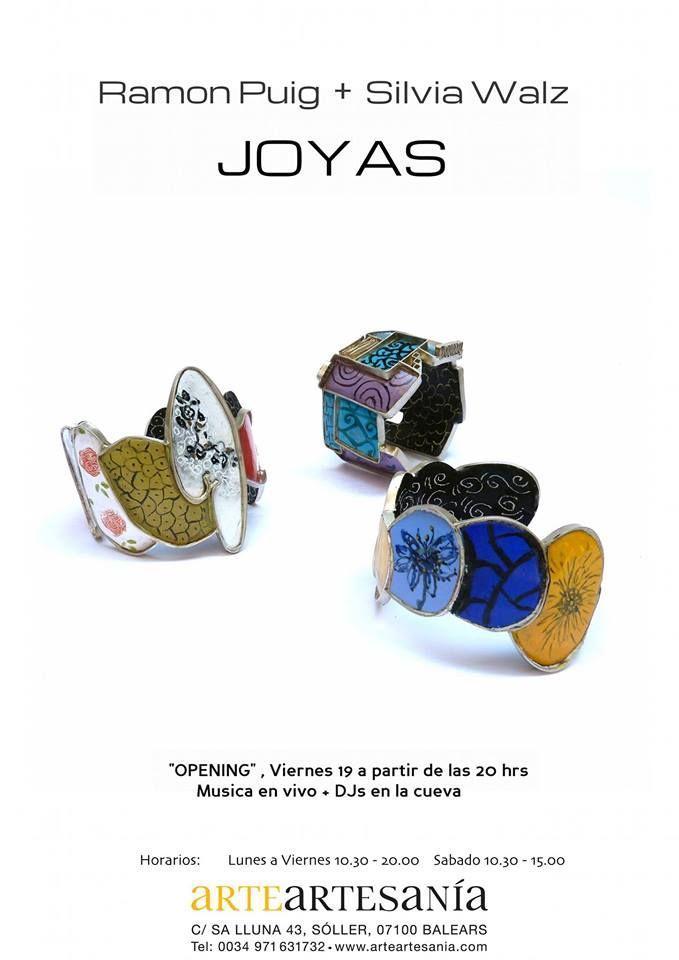 """Exposición Conjunta que abarca parte de los últimos años en la obra de Ramón Puig, son piezas realizadas entre el 2004 y el 2011 y Silvia Walz una colección de 14 Piezas de la Serie """"Casitecturas"""" ArteArtesania C/ Sa lluna 43, 07100 Sóller"""