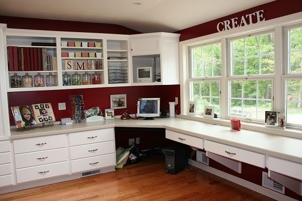 Craft Room Layout Craft Room Office Pinterest