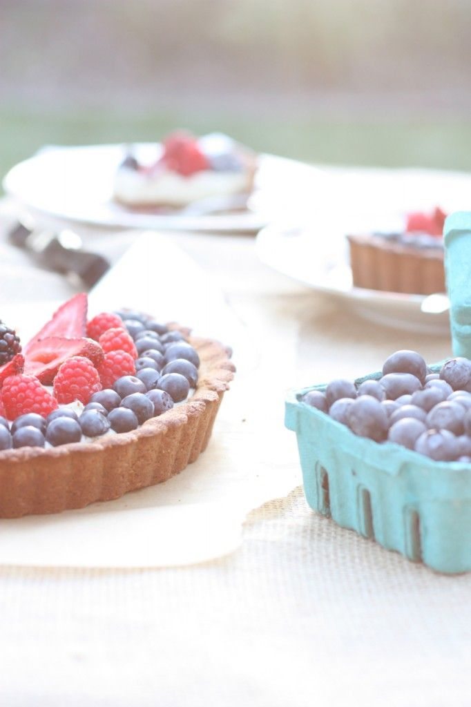 ... food eaters liked it! Berry Tart with Dairy-Free Vanilla Bean Custard
