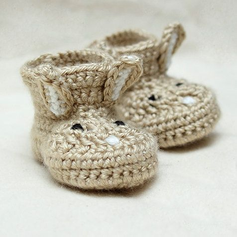Baby Booties | HodgePodge Crochet