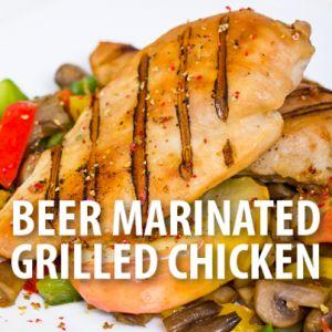 Aaron McCargo Jr: Big Daddy Beer Marinated Chicken Sandwich Recipe
