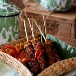 Indonesian sour beef satay. | Recipes to Try | Pinterest