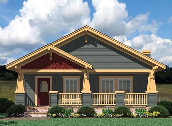 Craftsman elevation for Craftsman home elevations