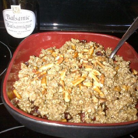 Balsamic Pecan Cranberry Quinoa | Find Your Inner Chef Contest | Pint ...