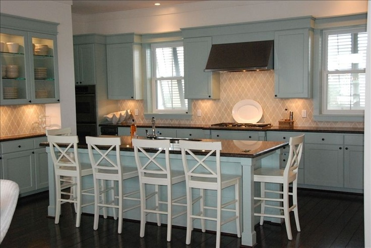 Kitchen with island seating 6 my kitchen pinterest - Kitchen island designs with seating for 6 ...