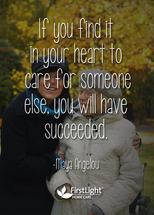 caring is success caregiver quotes sayings pinterest