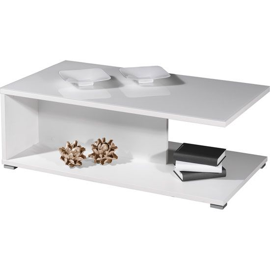 White Gloss Coffee Table A Table Just For Coffee Pinterest