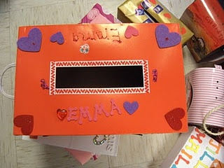 valentine's day mailbox project